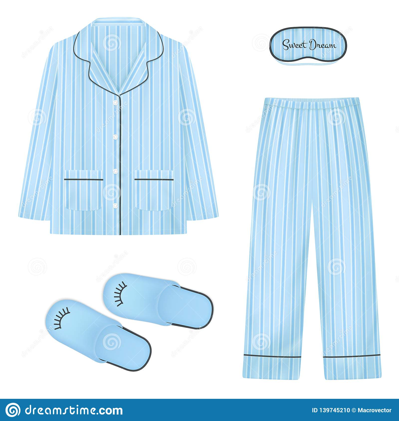 01c5eb41e3 Nightwear Stock Illustrations – 484 Nightwear Stock Illustrations ...
