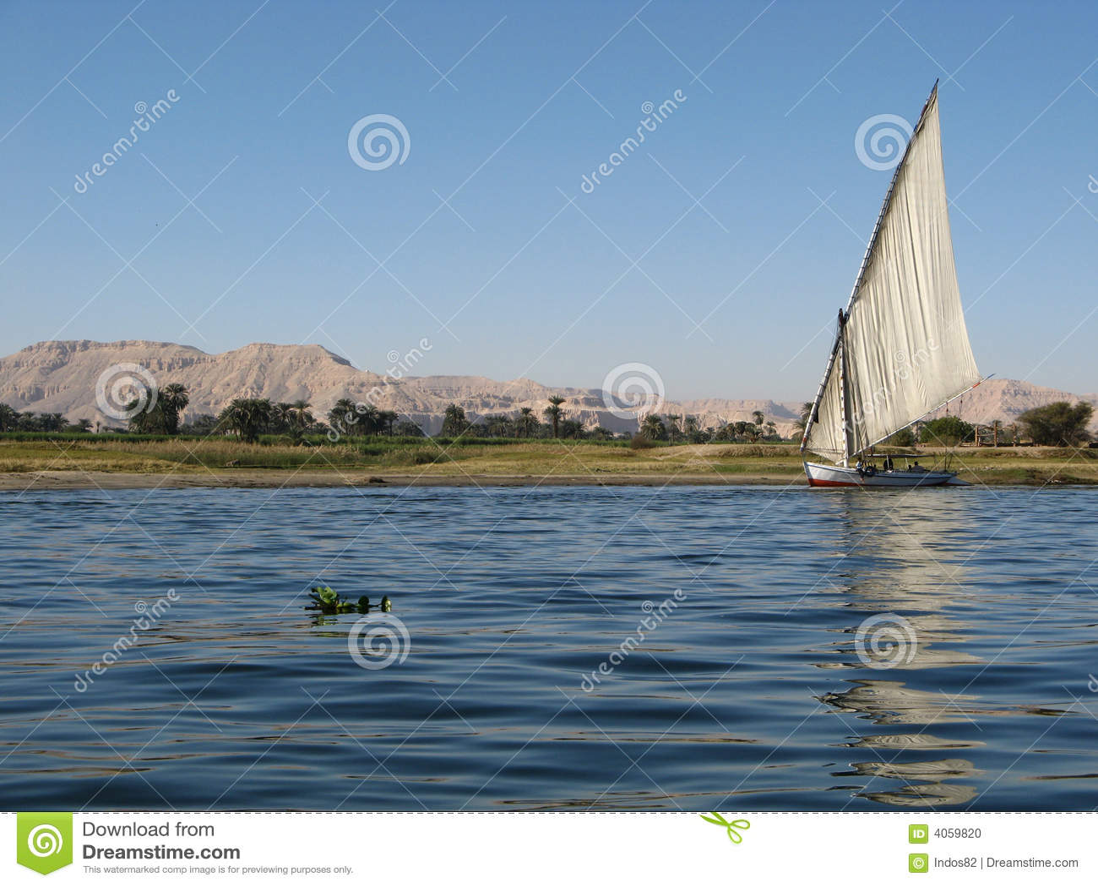 Nijl, Egypte