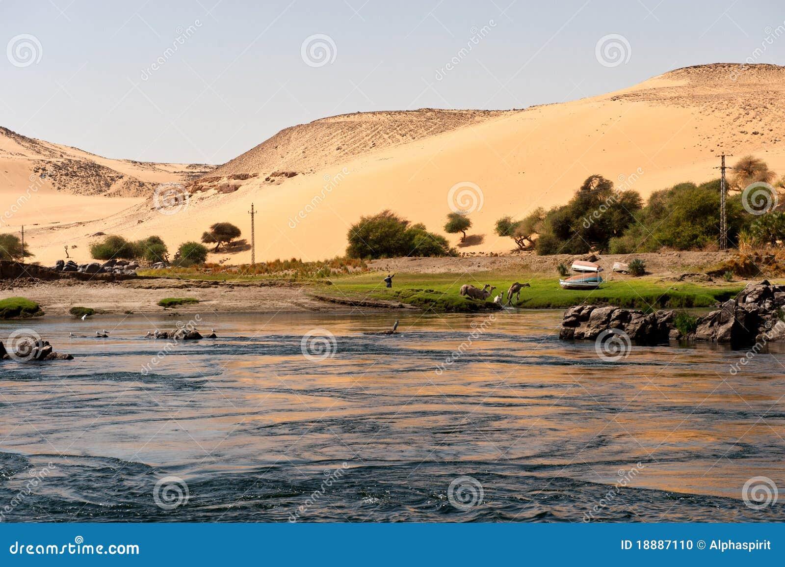 Nijl en woestijn