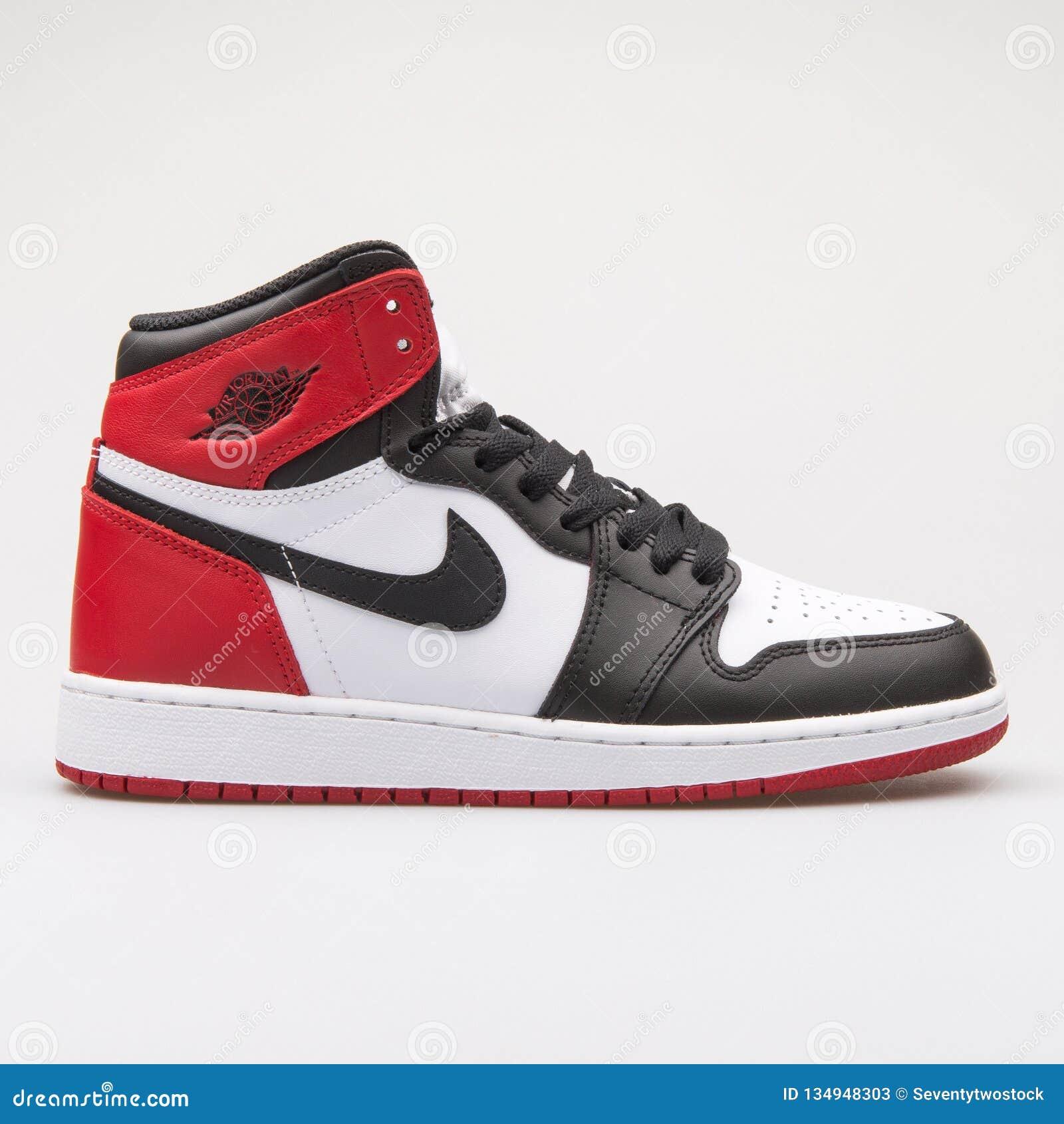 Nike Air Jordan 1 Metà Di Scarpa Da Tennis Nera, Grigia