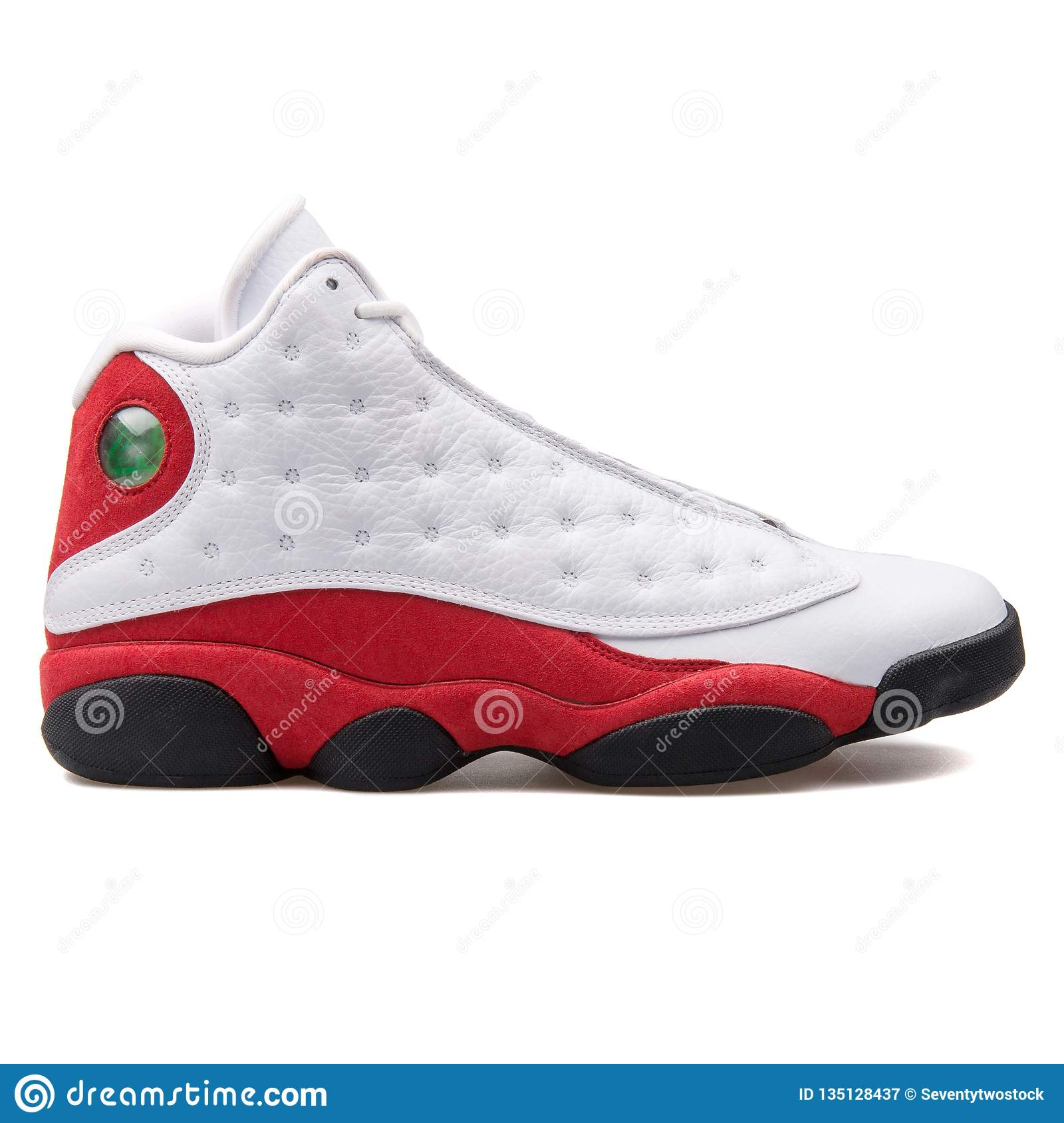new style f6d93 233c4 Nike Air Jordan 13 Retro OG White, Red And Black Sneaker ...