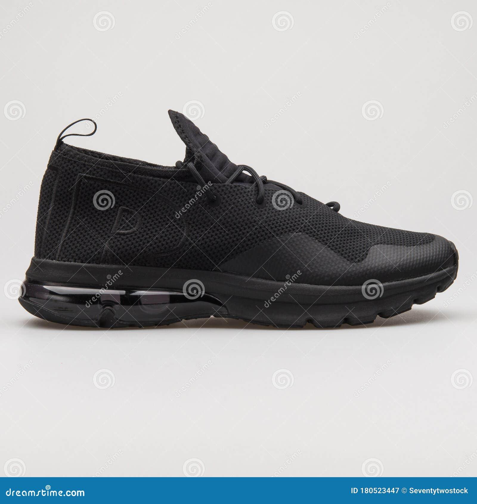 darse cuenta huella Caso Wardian  Nike Air Max Flair 50 Black Sneaker Editorial Photography - Image of black,  athletic: 180523447