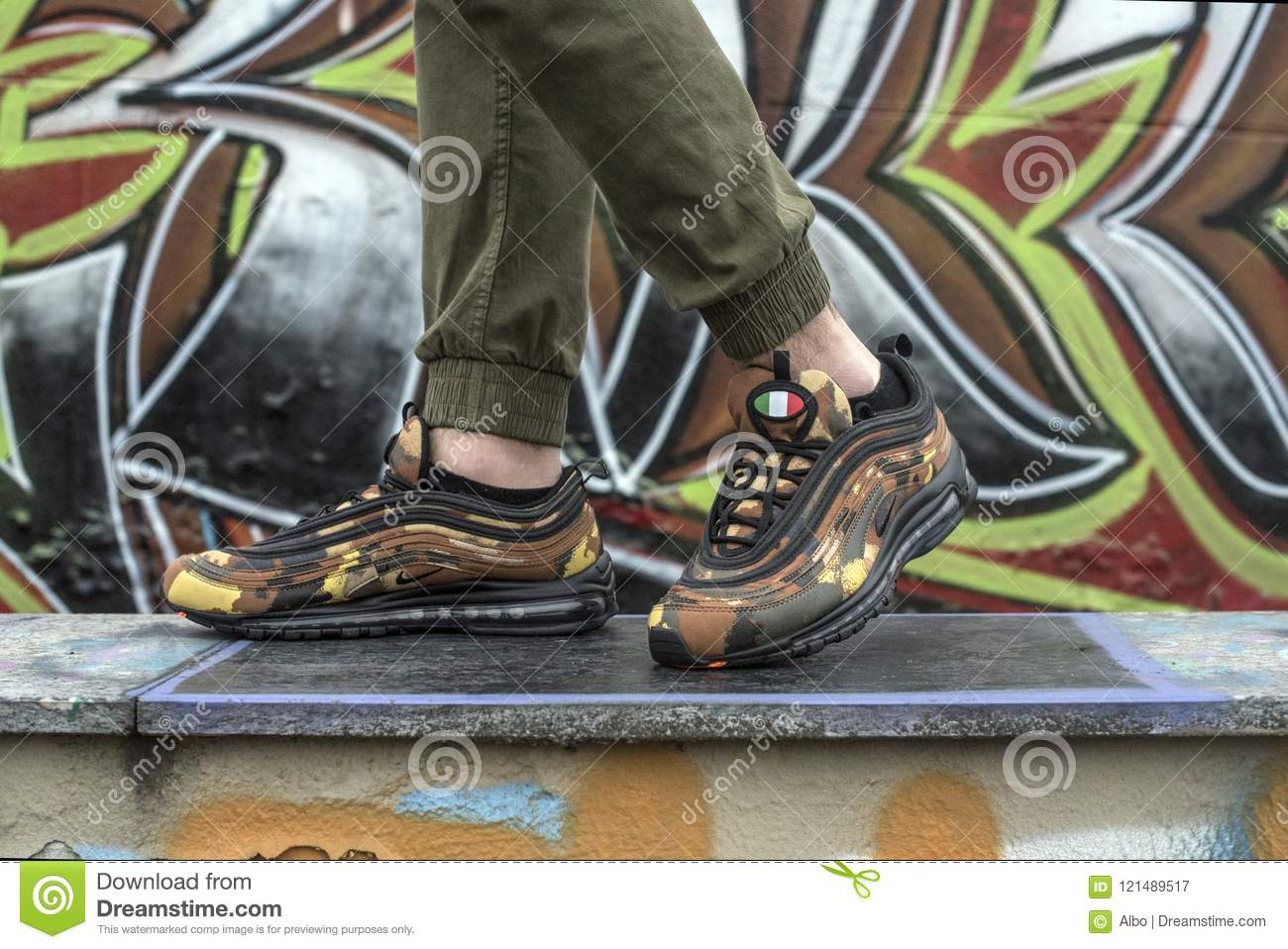 on sale 16b05 76d87 Nike Air Max 97 Premium Camo Pack Italy Editorial ...
