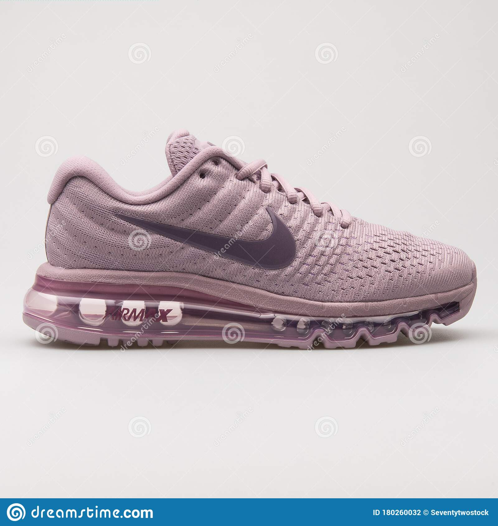 Nike Air Max 2017 Purple Sneaker Editorial Photography - Image of ...