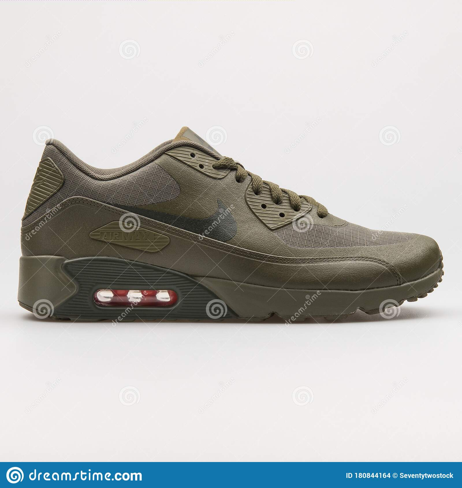 Diplomático Oponerse a Increíble  Nike Air Max 90 Ultra 2.0 WE Olive Green Sneaker Editorial Stock Image -  Image of accessories, running: 180844164