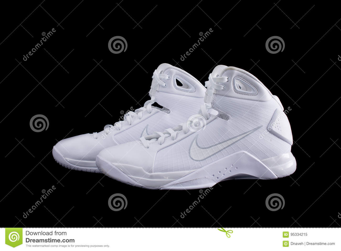 Top Basketball Shoes Sneakers Editorial