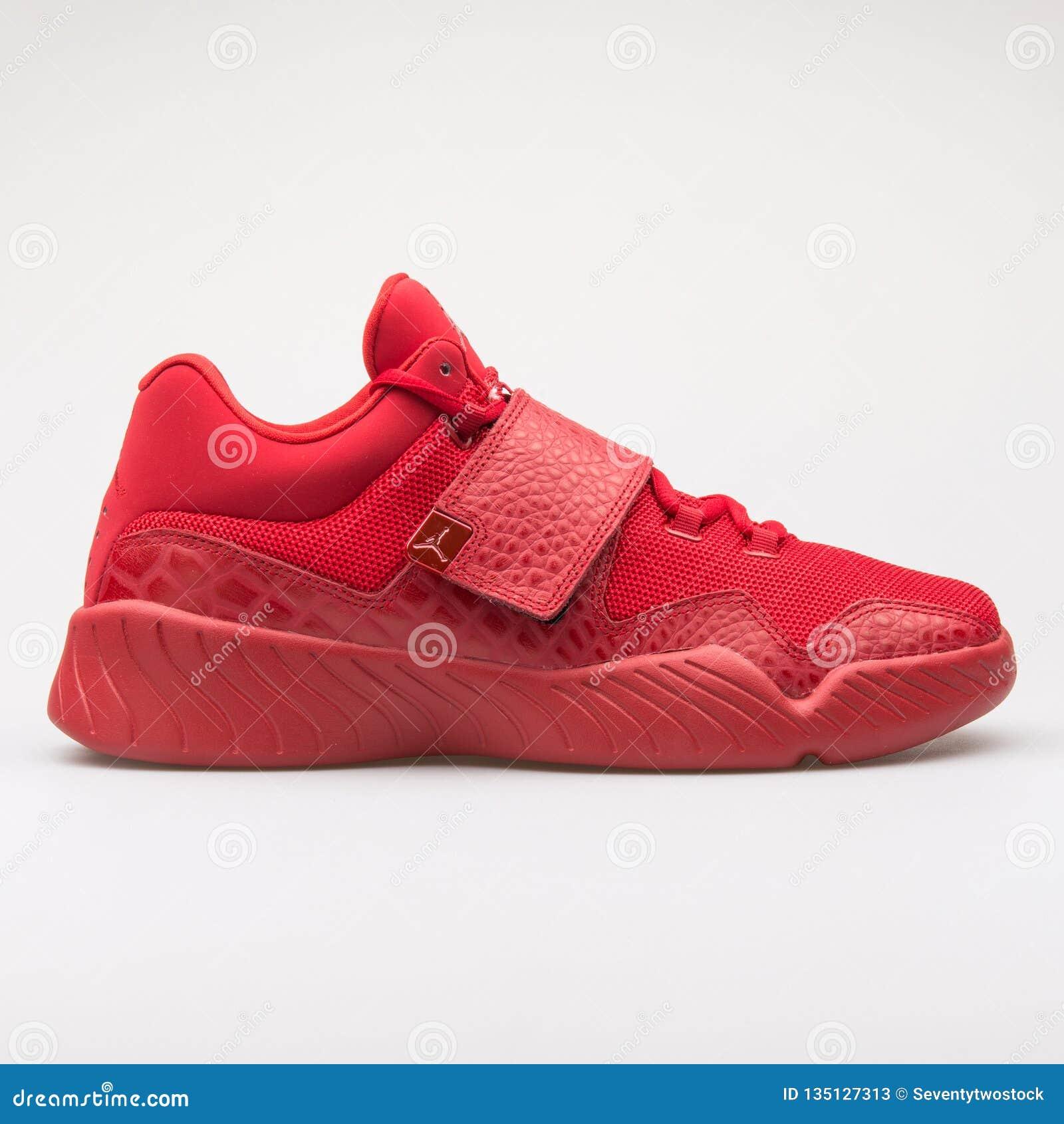 956a9d51db8c5e Nike Jordan J23 Red Sneaker Editorial Stock Photo - Image of ...