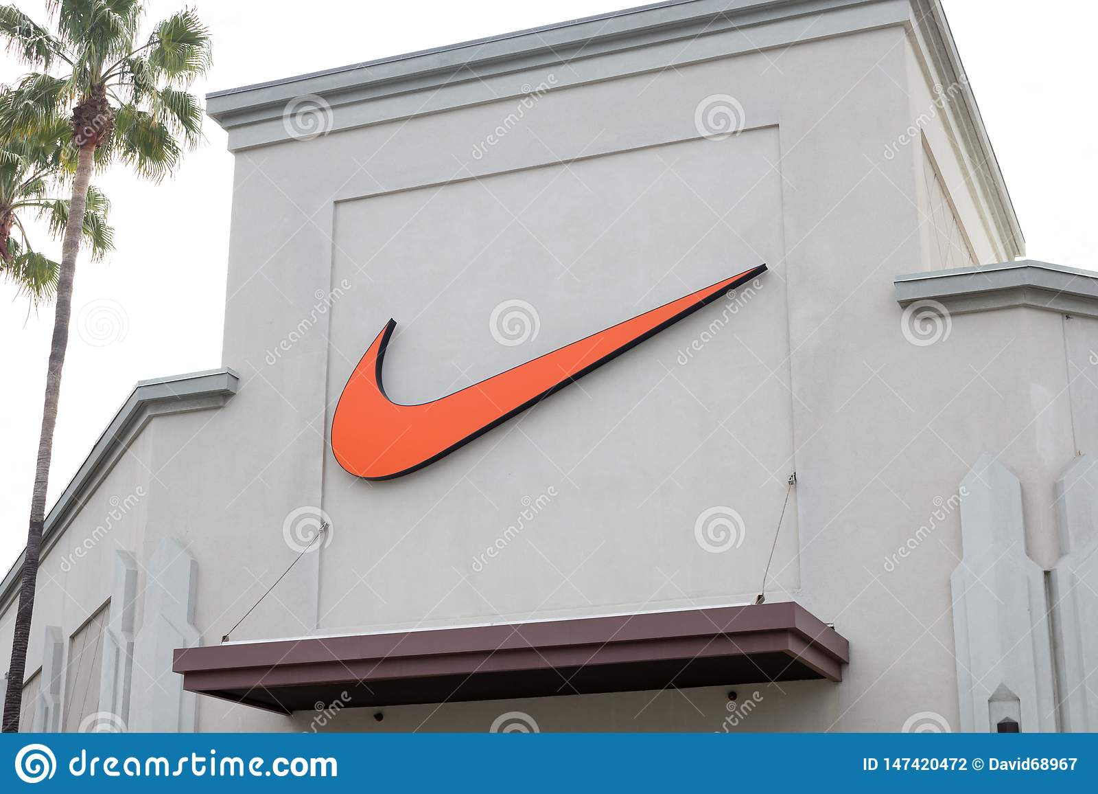 Nike lagertecken