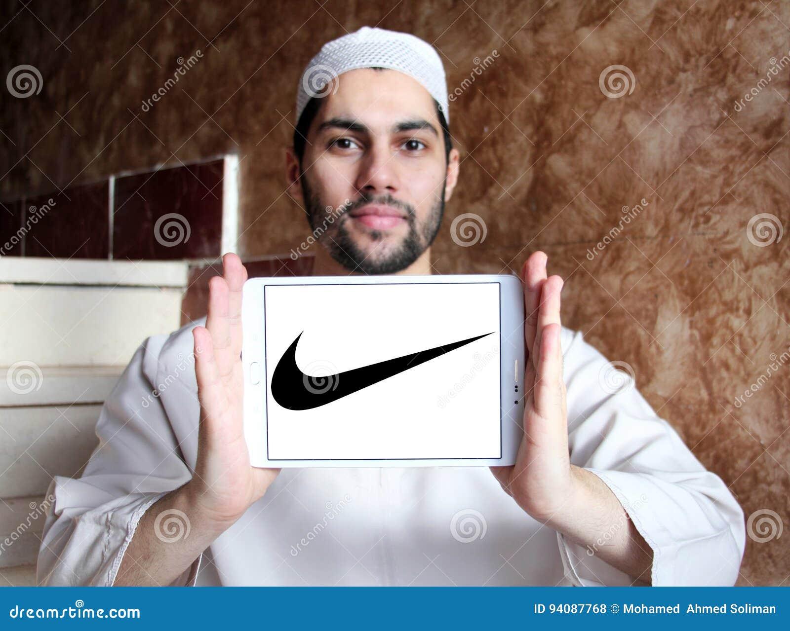 ligado malta aleatorio  Nike logo editorial stock photo. Image of muslim, sport - 94087768