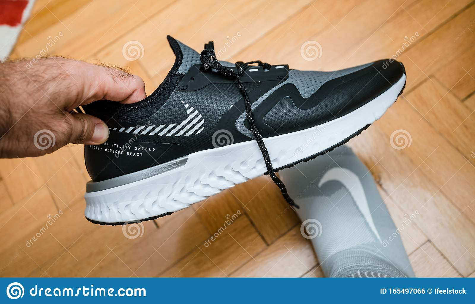 Nike Model Odyssey React Shield 2 Man
