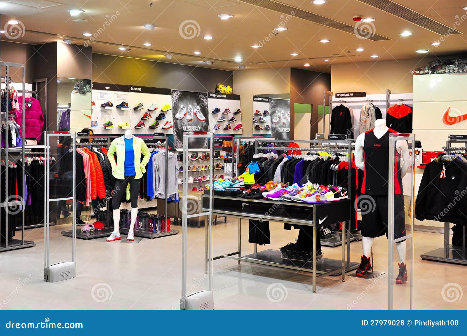 Nike Retail Store, Hong Kong Editorial