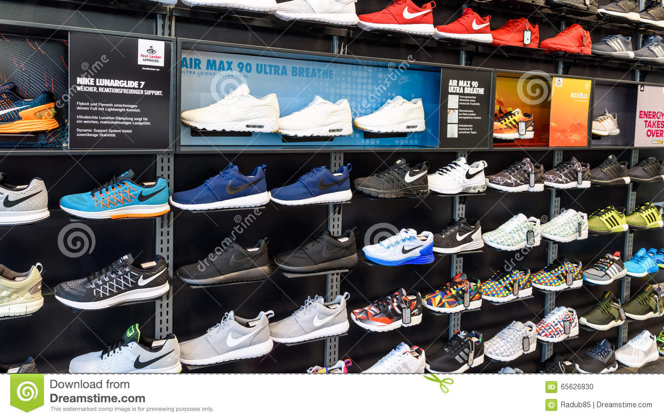 Footwear retail shop design