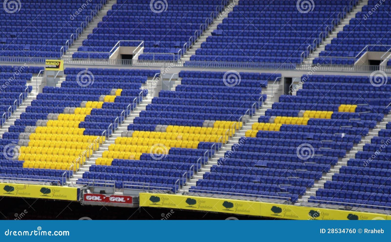 Nike Sign At Barcelona S Camp Nou Editorial Image - Image of