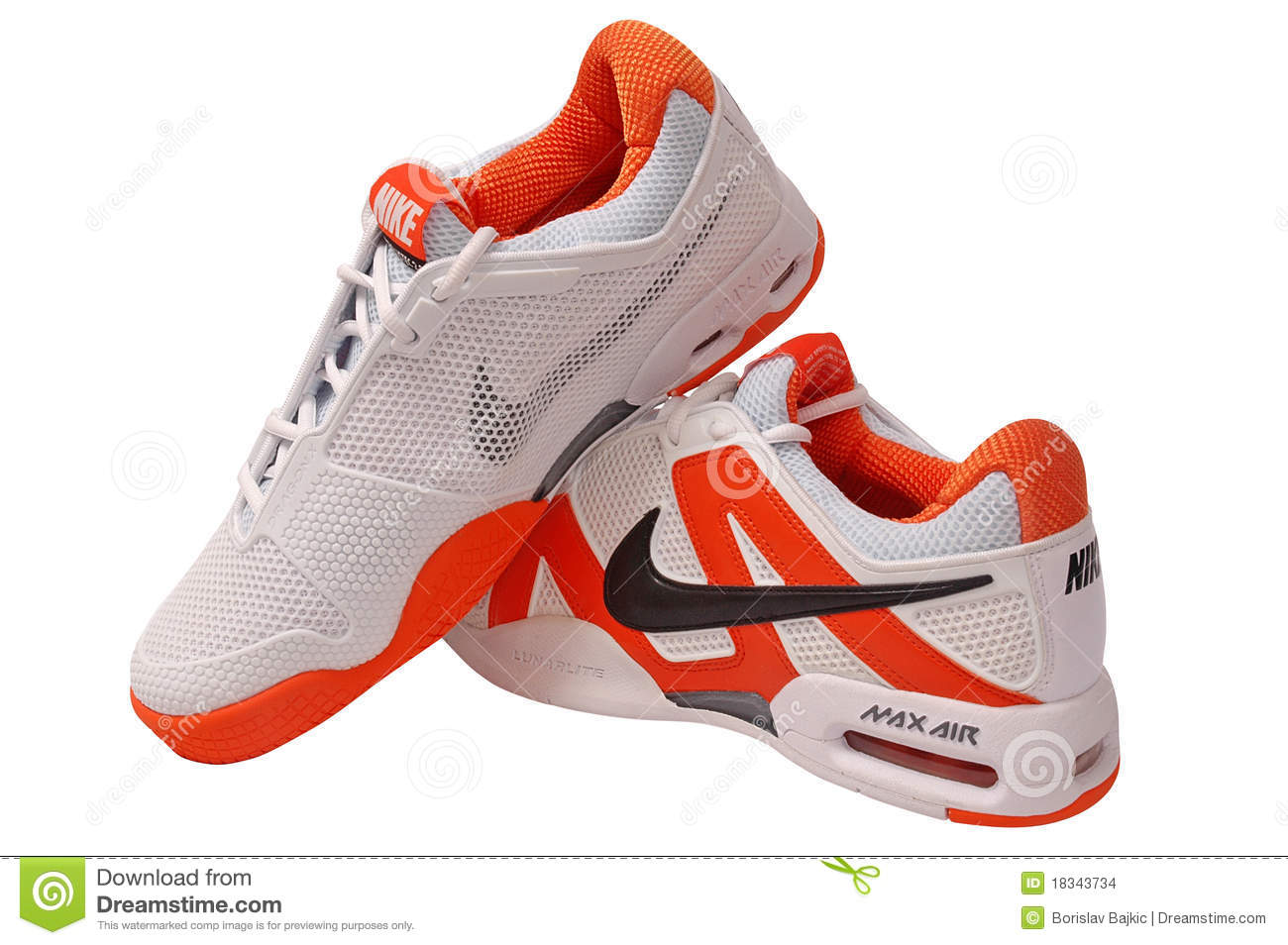 Nike Flat Sole Running Shoes
