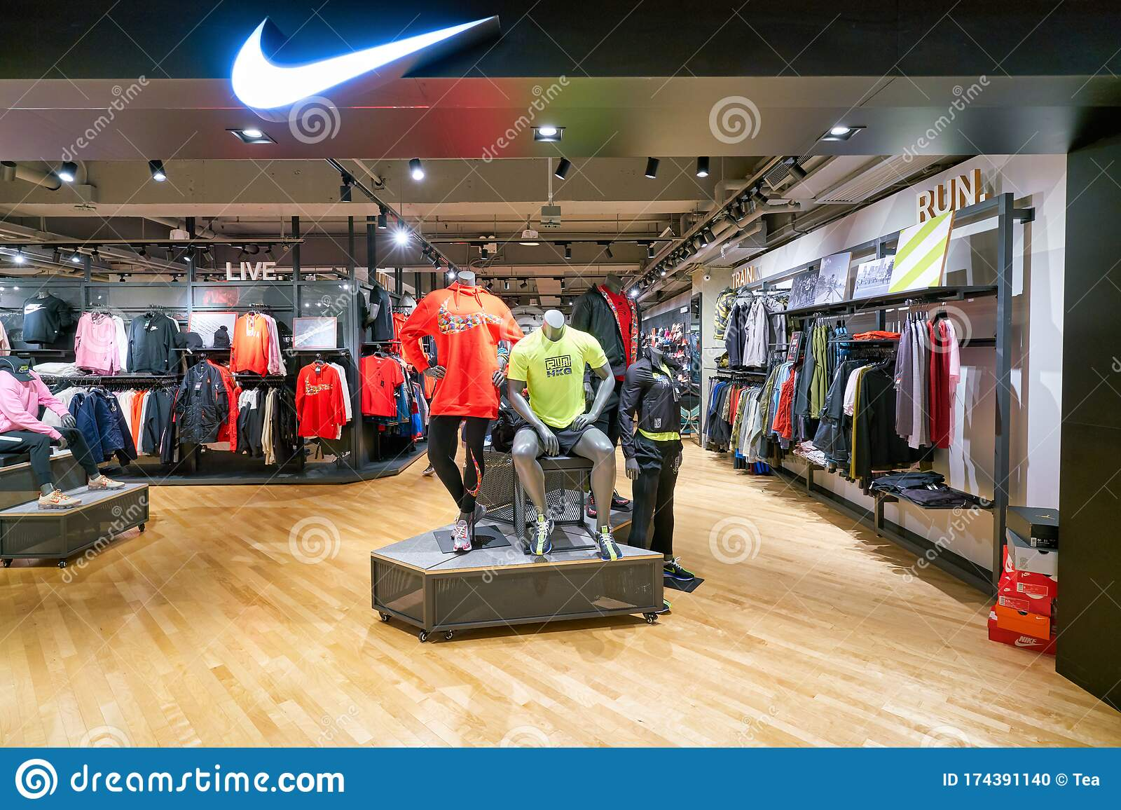 Nike Store At New Town Plaza Shopping