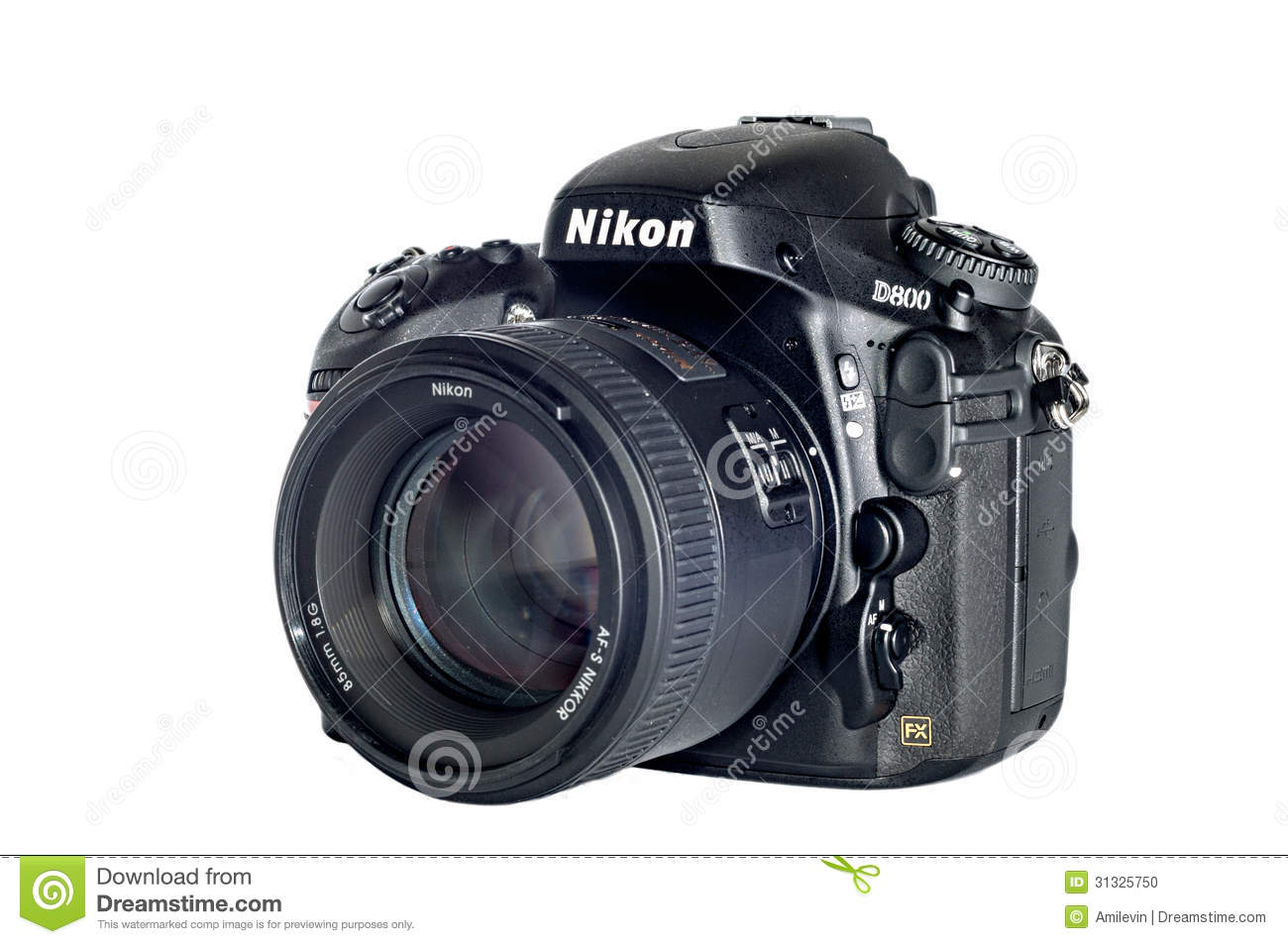 Nikon D800 Isolated Editorial Image Image Of Product