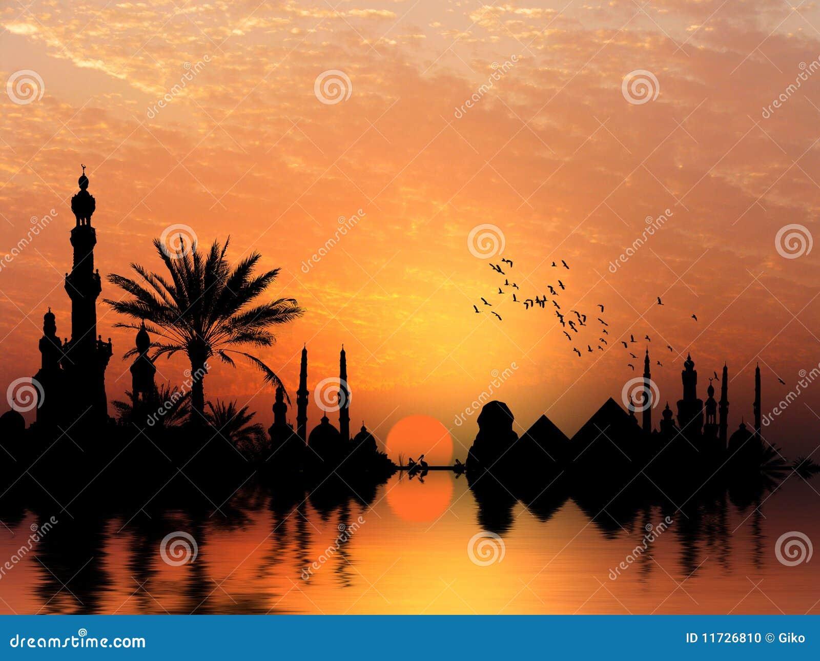 Nil-Flussquerneigung
