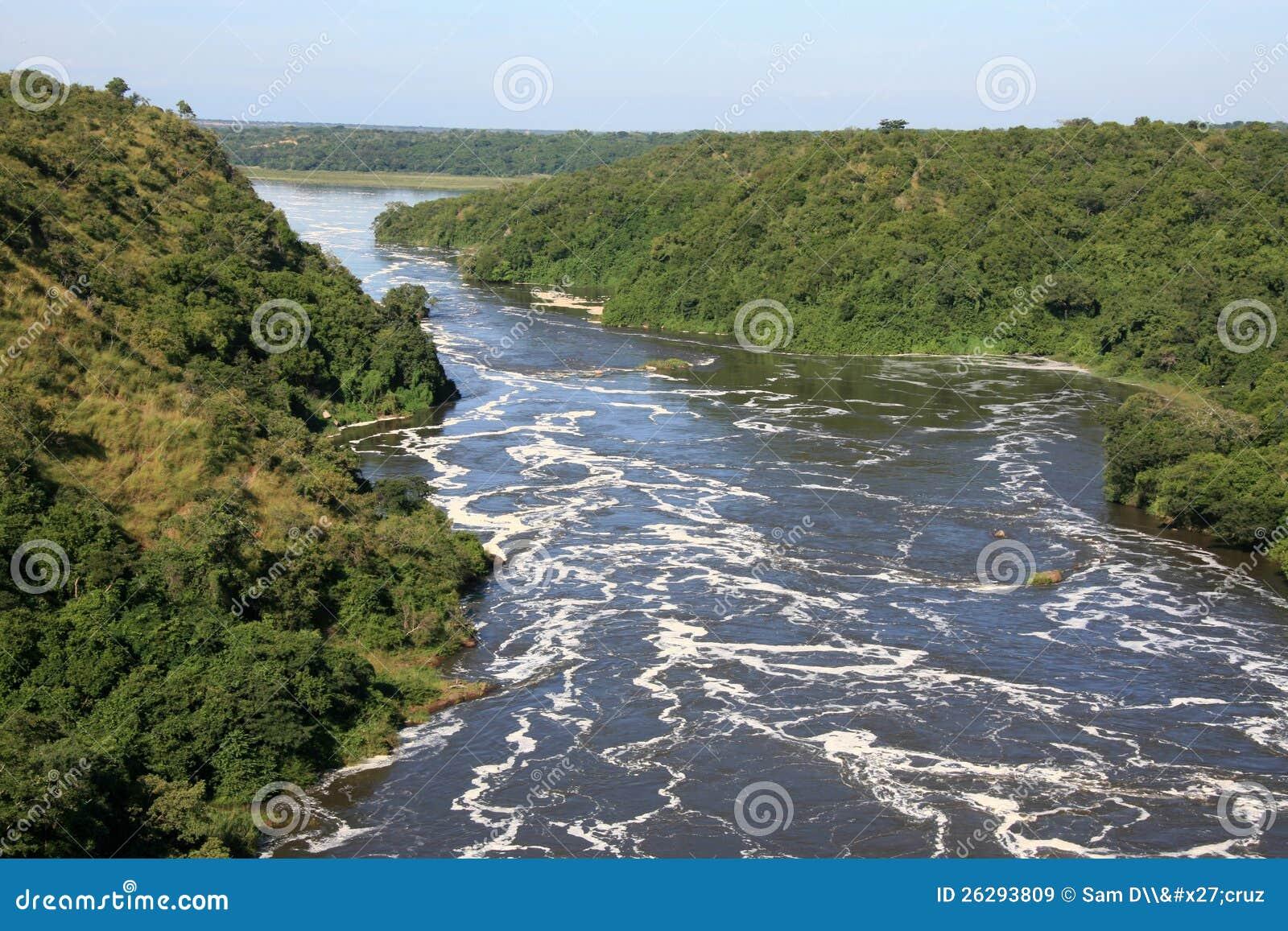 The Nile River Uganda Africa Royalty Free