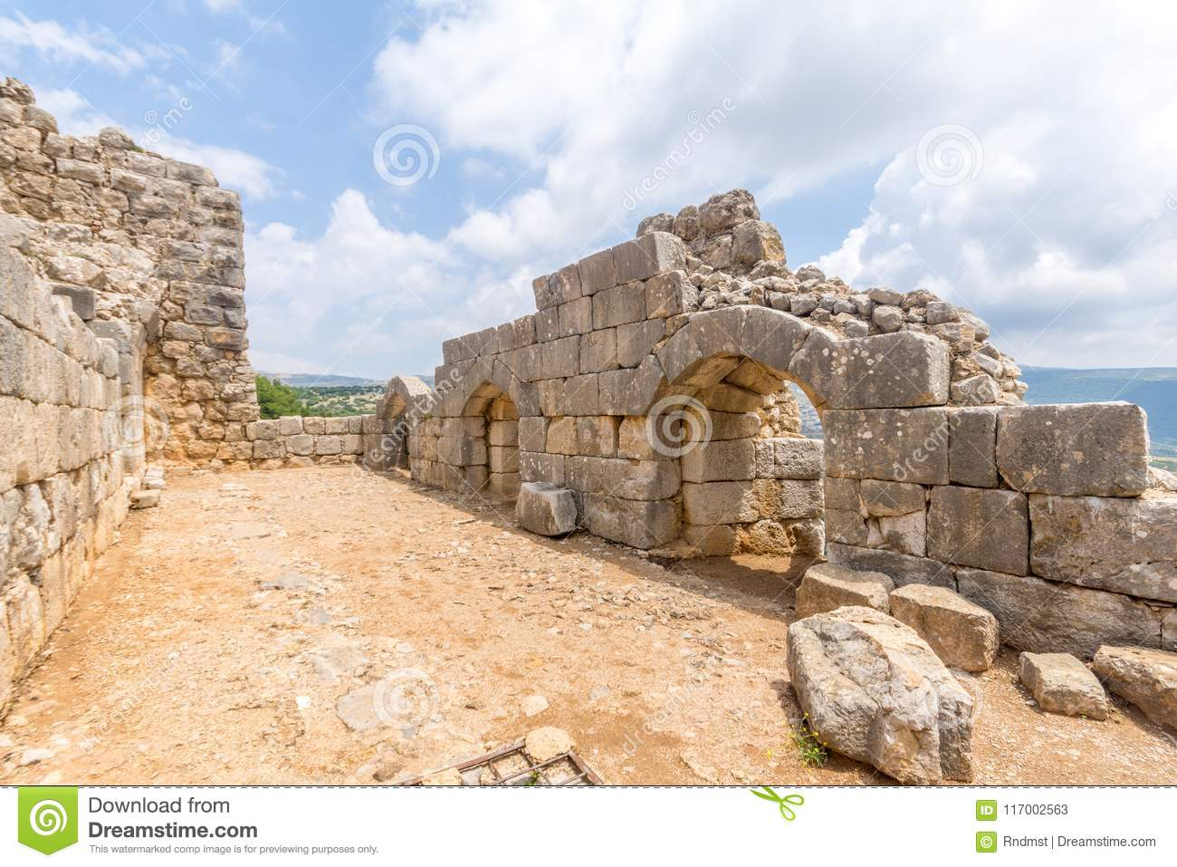 Nimrod Fortress Remains