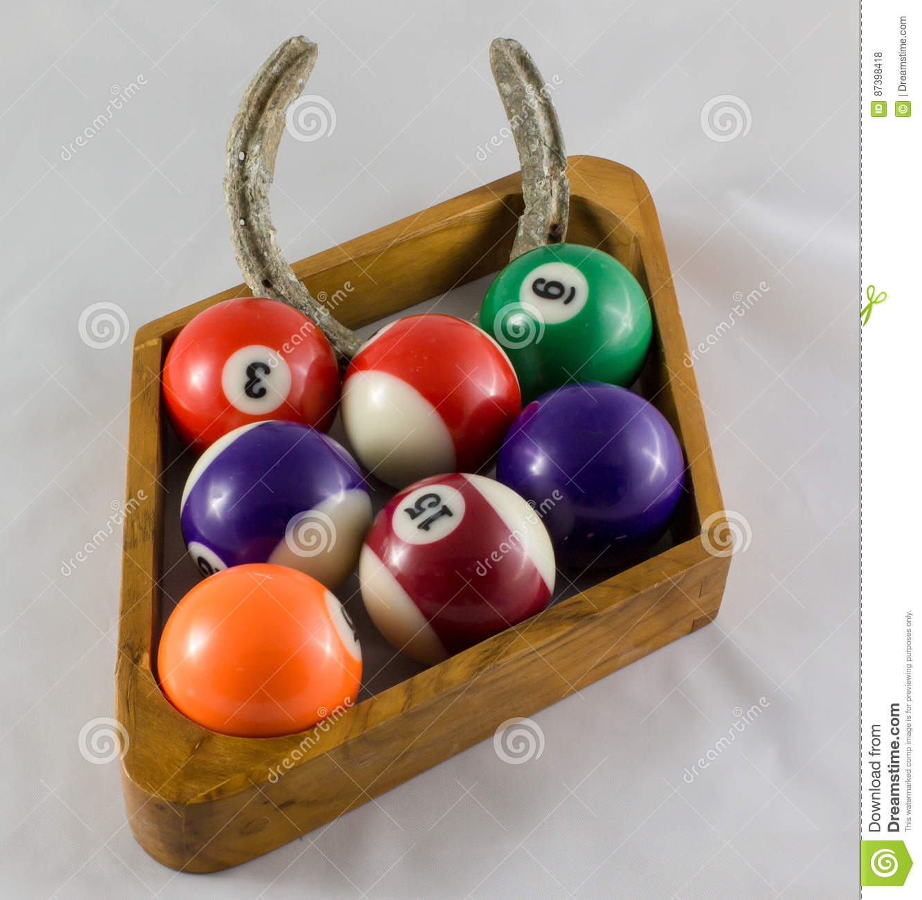 Nine Ball With Luck Substitute