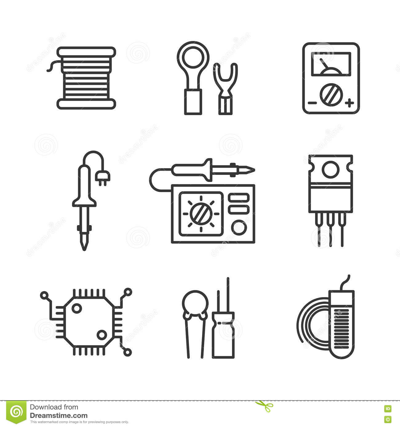 micro electronic components royalty
