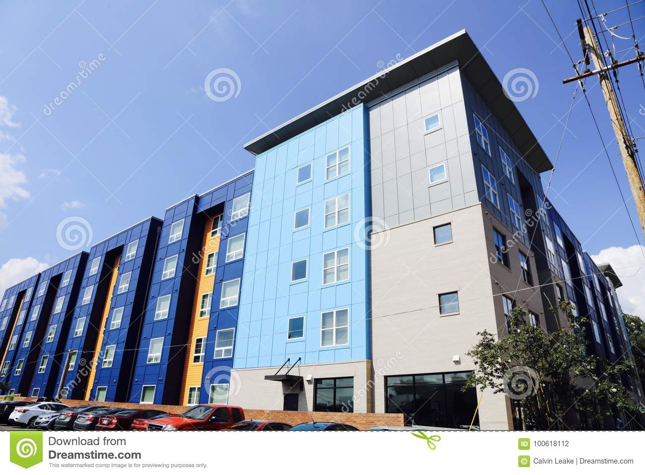 The Nine Apartment Homes Memphis Editorial Photography Image 100618112