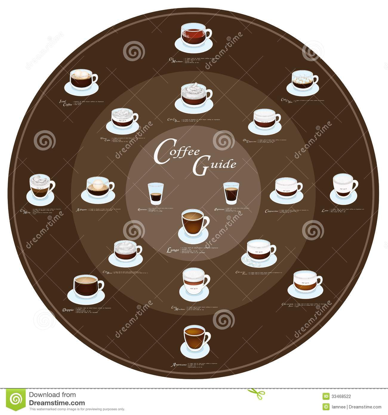 Coffee And Tea Elements Line Icons Set Stock Vector - Image: 54545418
