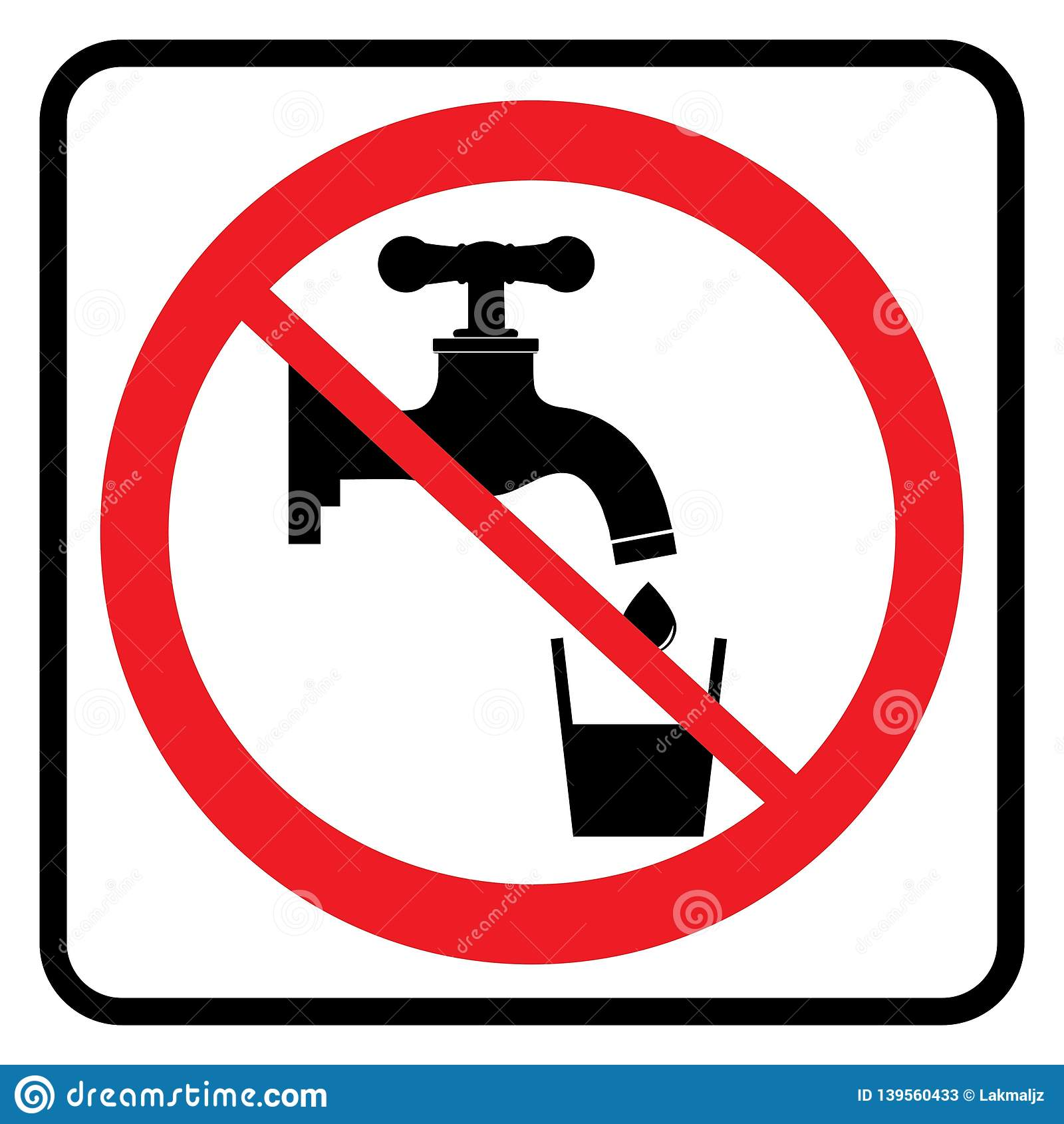 Ninguna muestra del agua potable