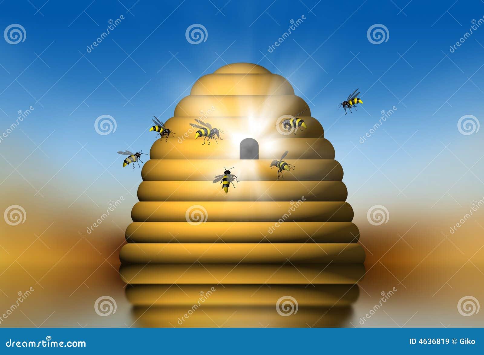 Ninho das abelhas
