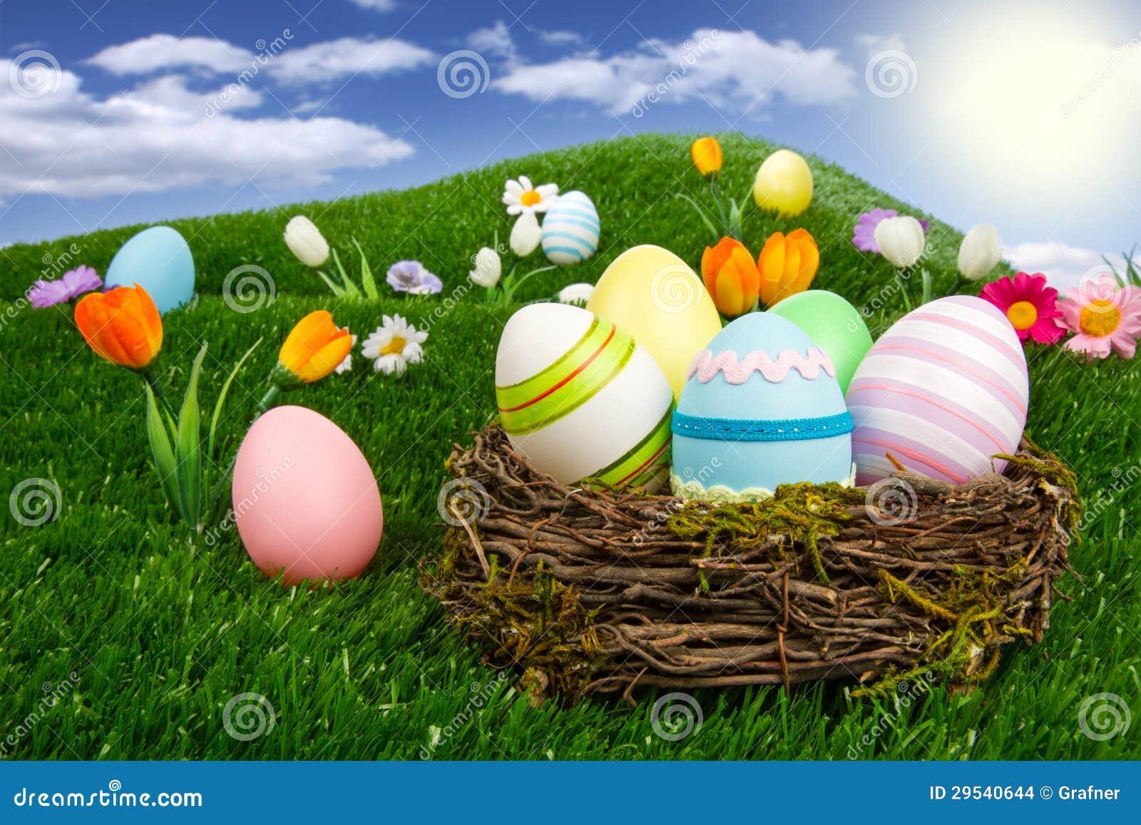 Ninho de Easter