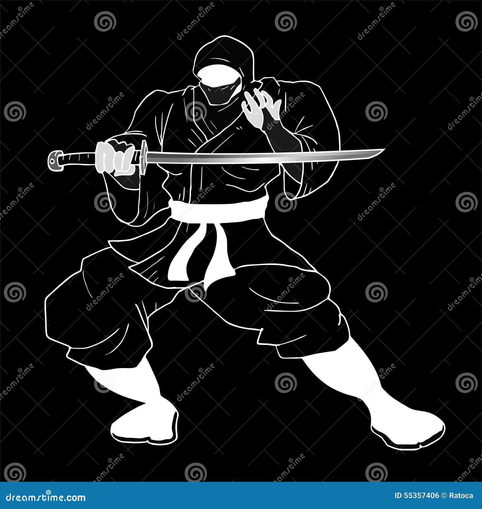 Ninja scuro
