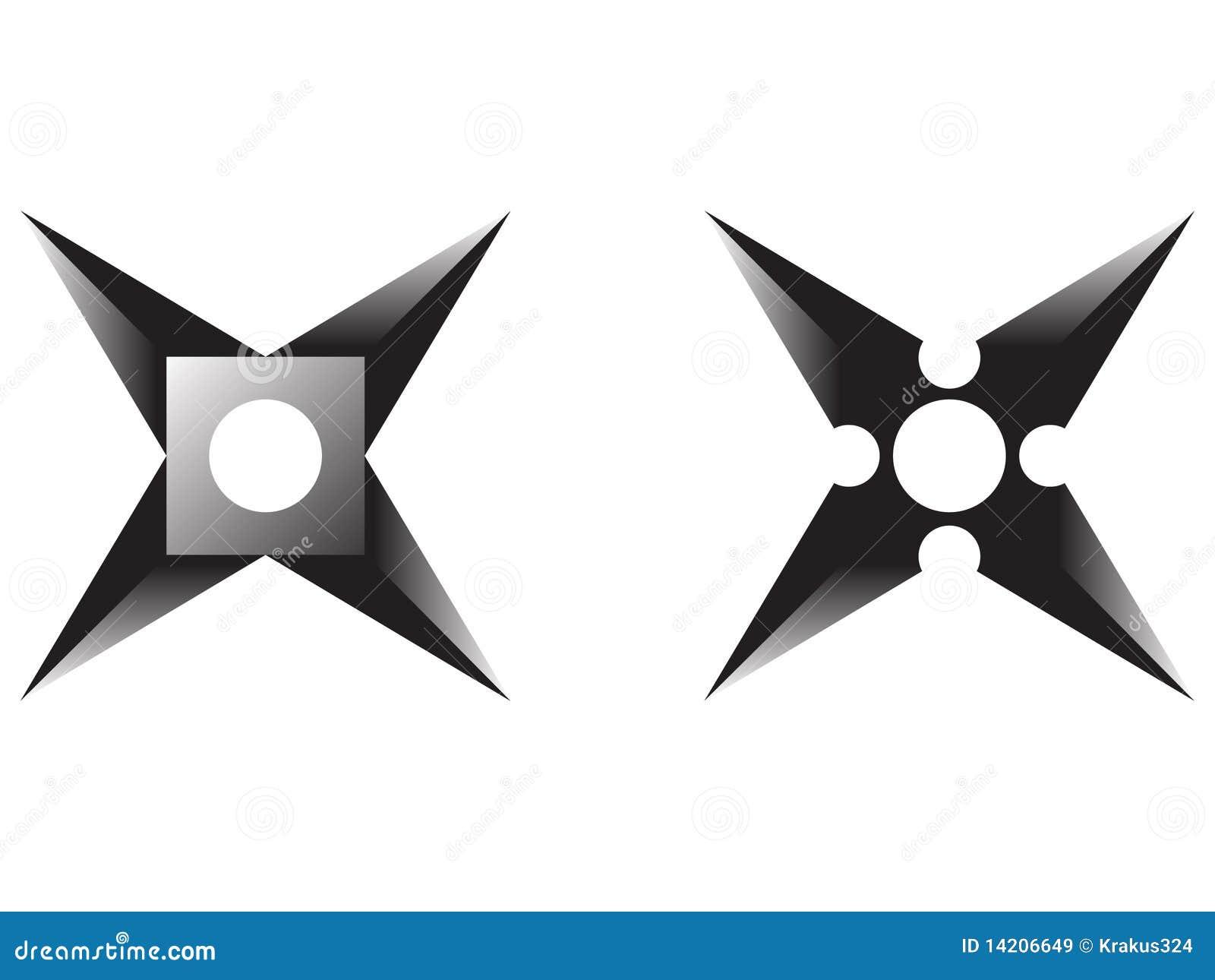 ninja star royalty free stock images image 14206649. Black Bedroom Furniture Sets. Home Design Ideas