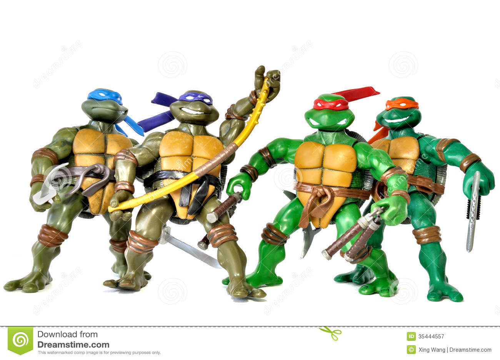 Ninja Turtles Editorial Photography Image 35444557