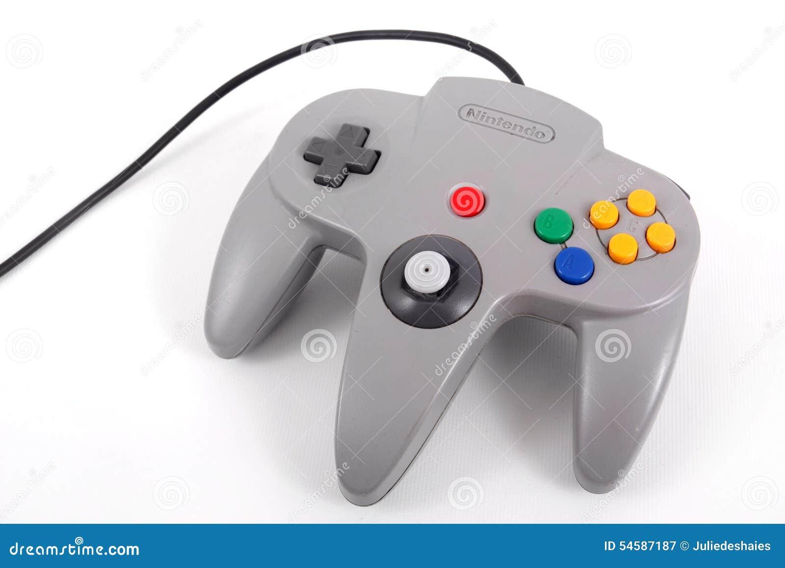 Nintendo 64 controlemechanisme