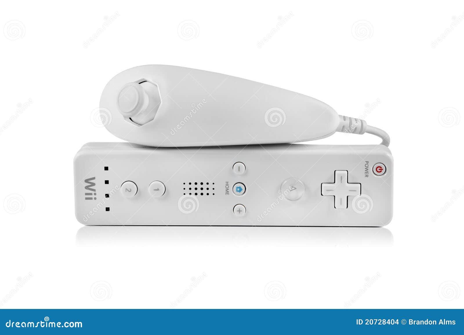Nintendo Wii Nunchuk y regulador