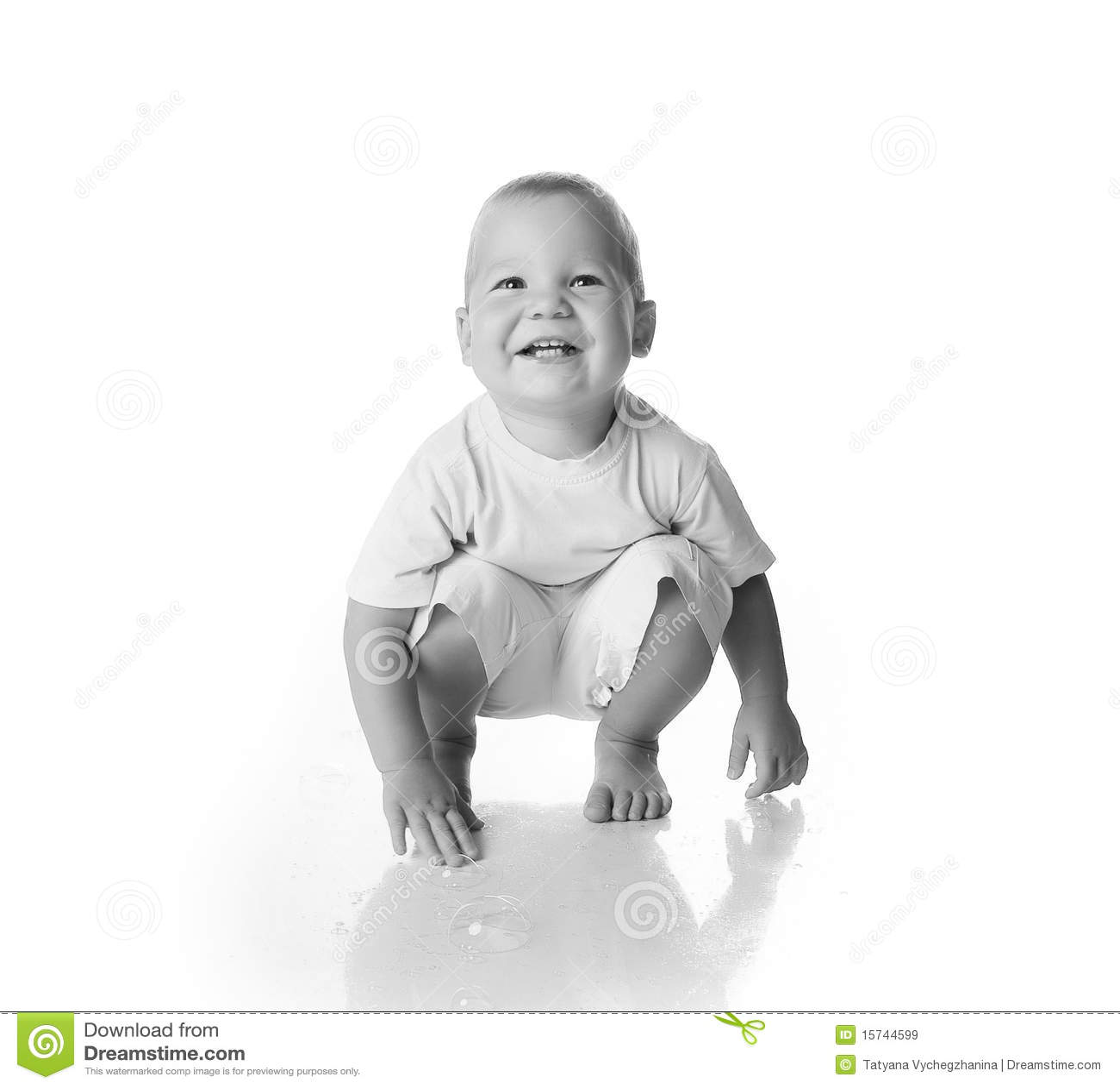 Ni o peque o blanco y negro im genes de archivo libres de - Foto nino pequeno ...