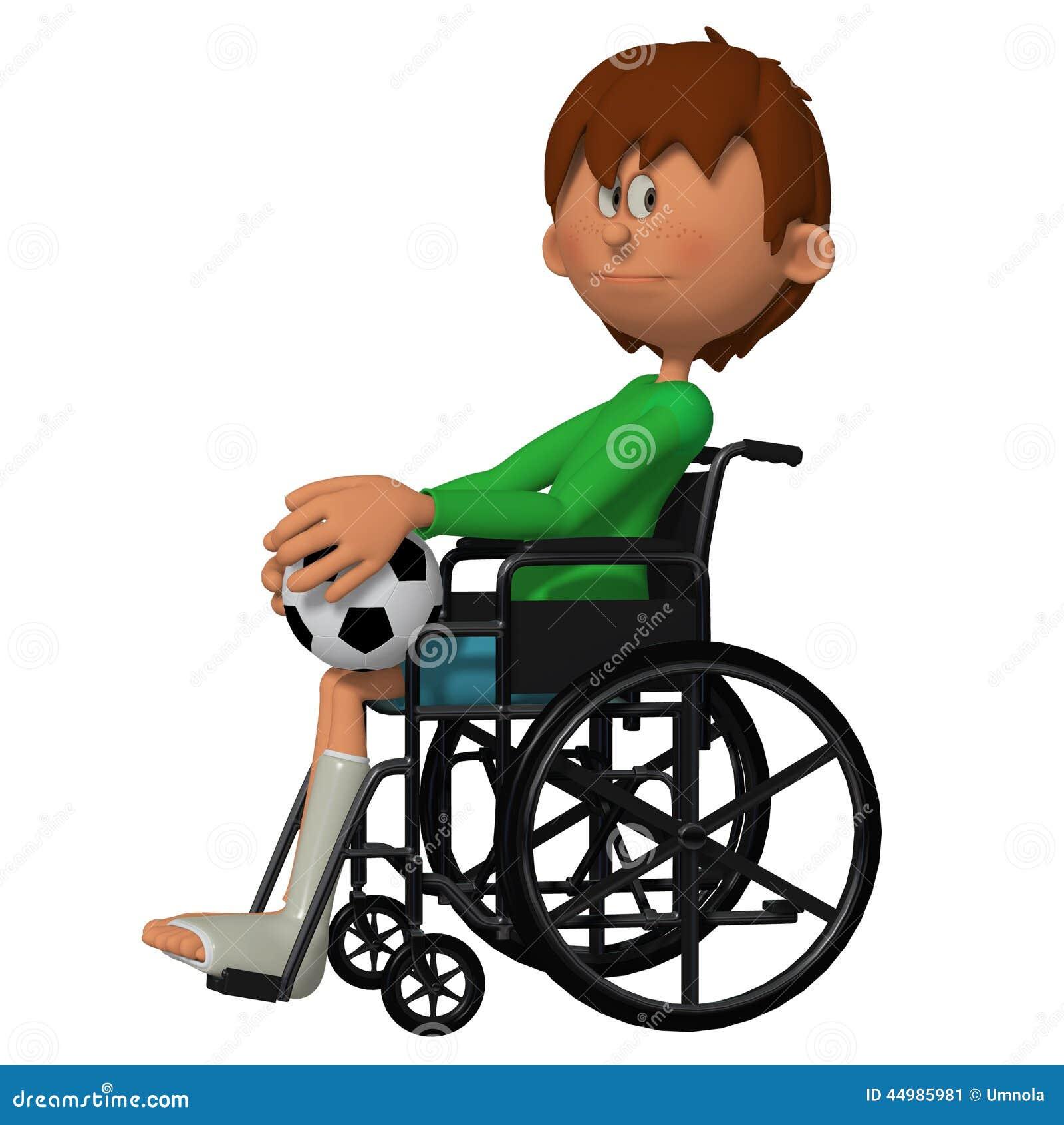 Ni o que se sienta en la silla de ruedas stock de ilustraci n imagen 44985981 - Silla de ruedas ninos ...