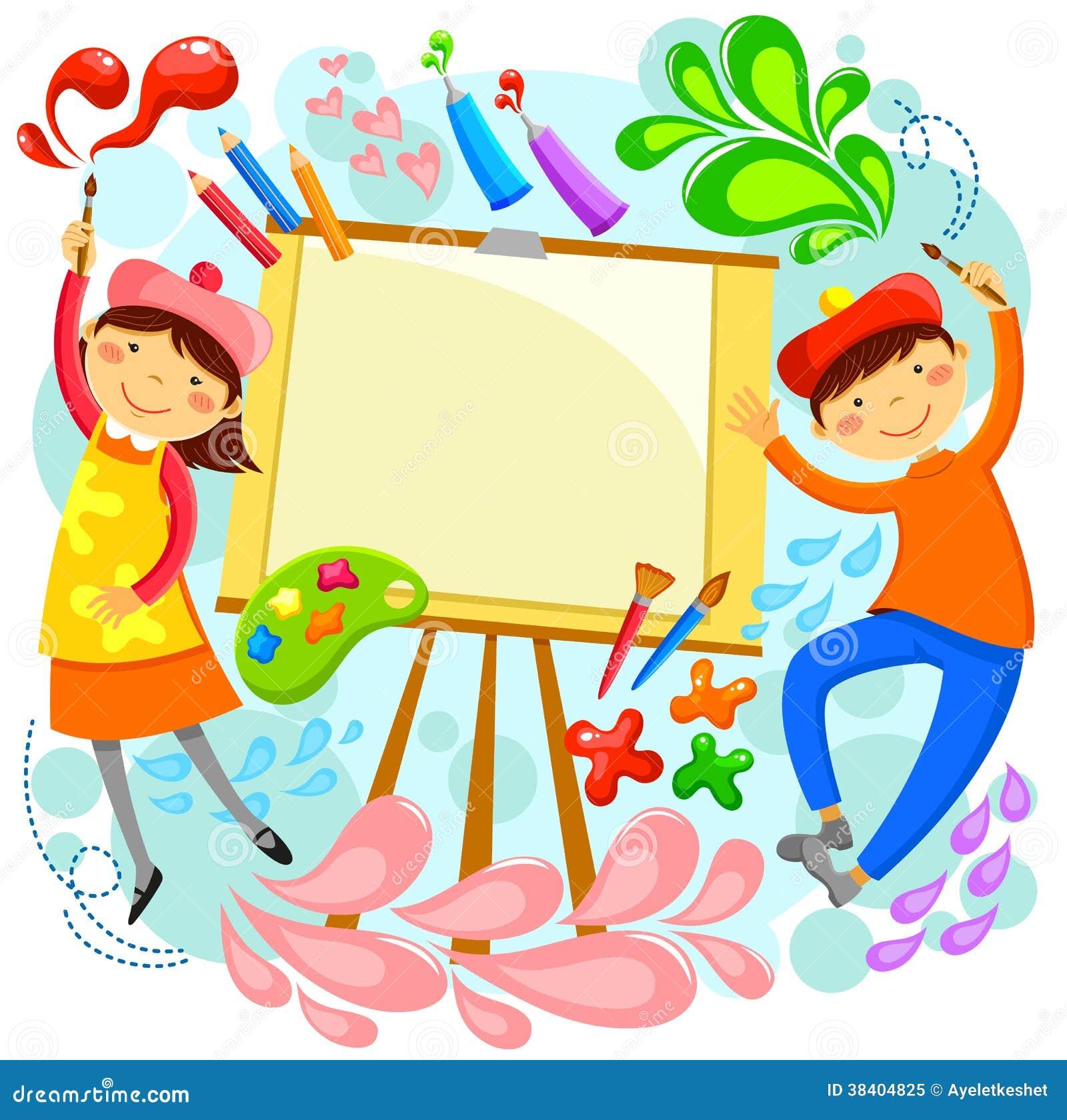 Niños Artísticos Foto de archivo libre de regalías ...