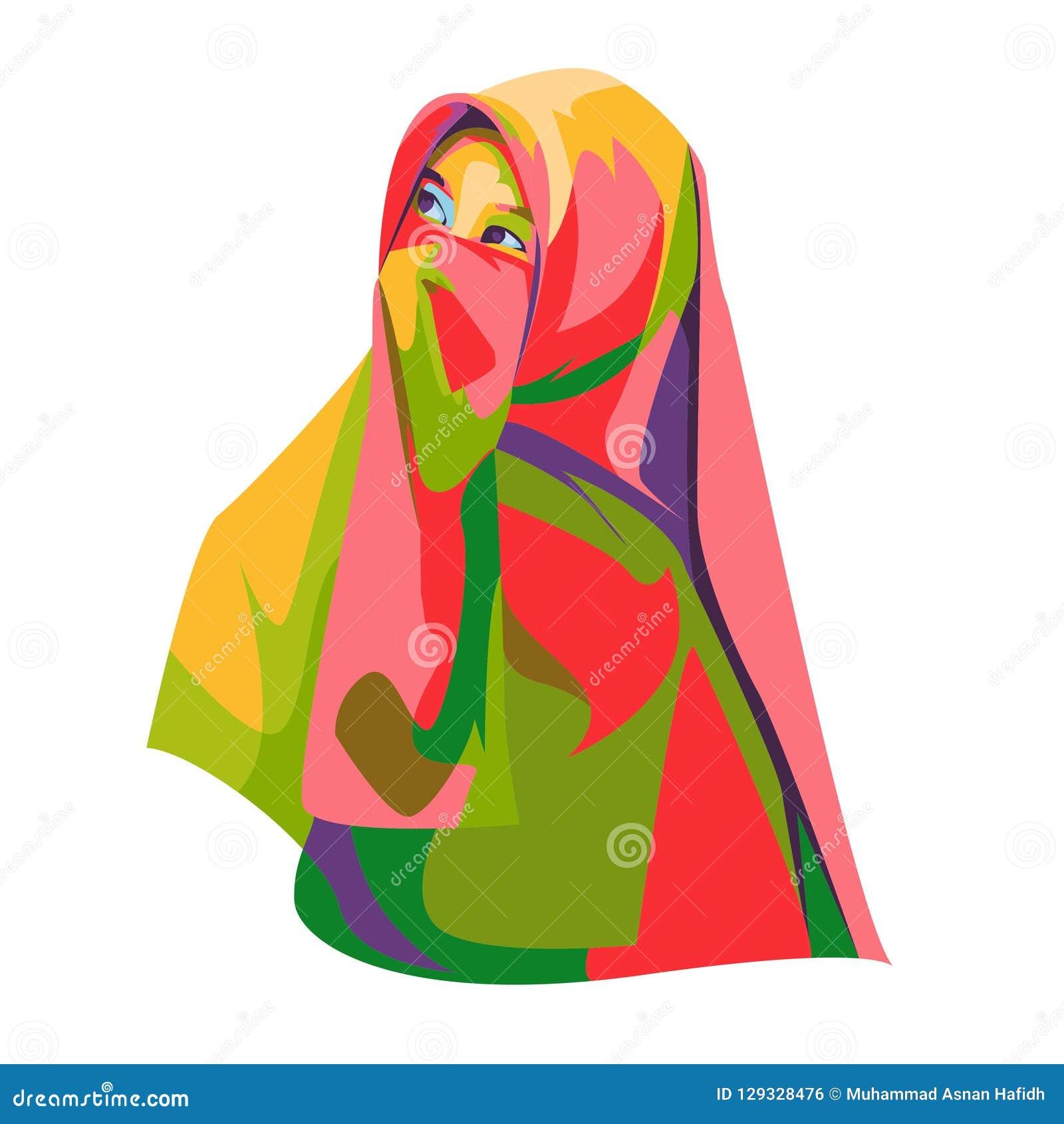 Niqob woman