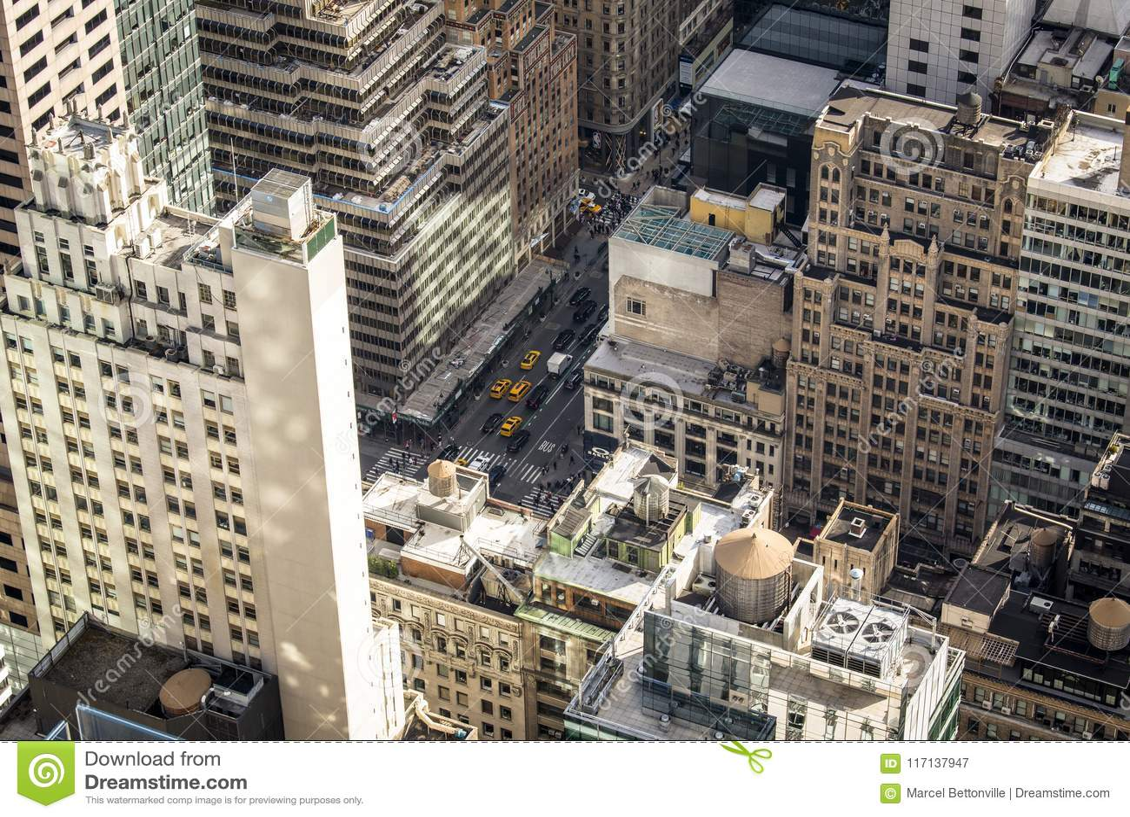 Niski Manhattan nowy York