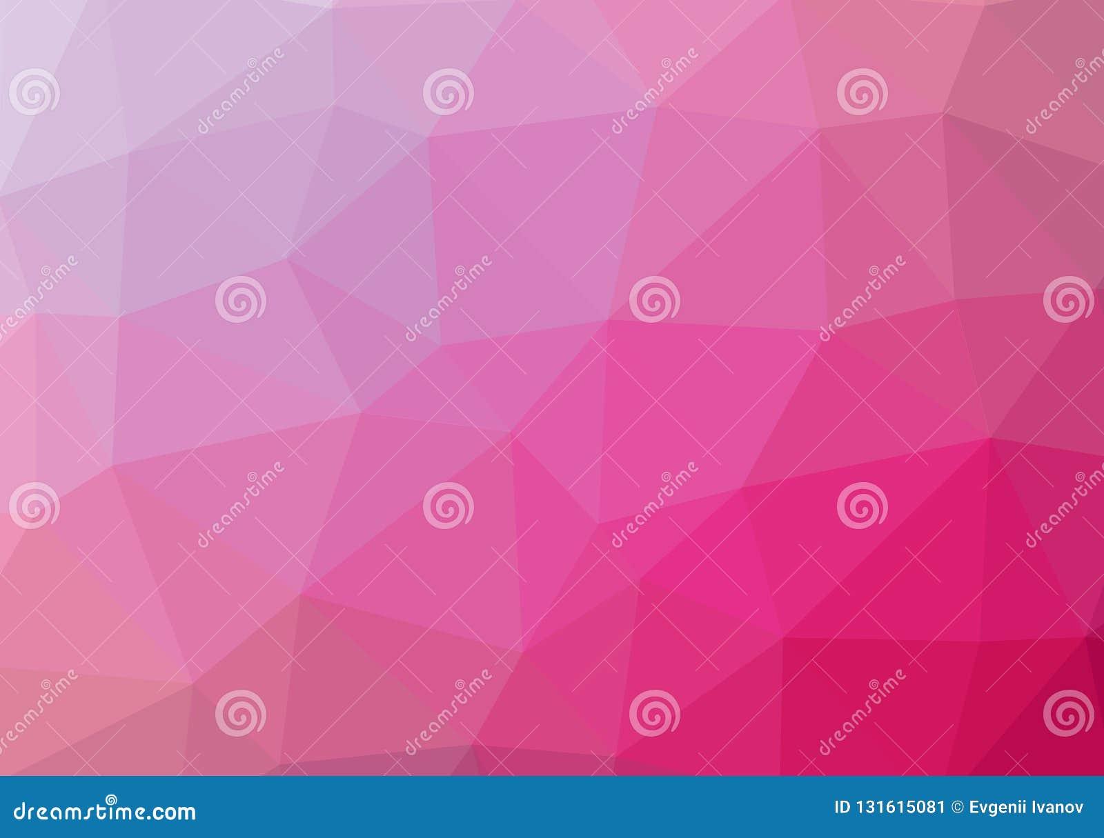Niski poli- jaskrawy stubarwny lekki trójboka tła koloru gradientu wzoru kryształ, płaska projekta koloru ilustracja