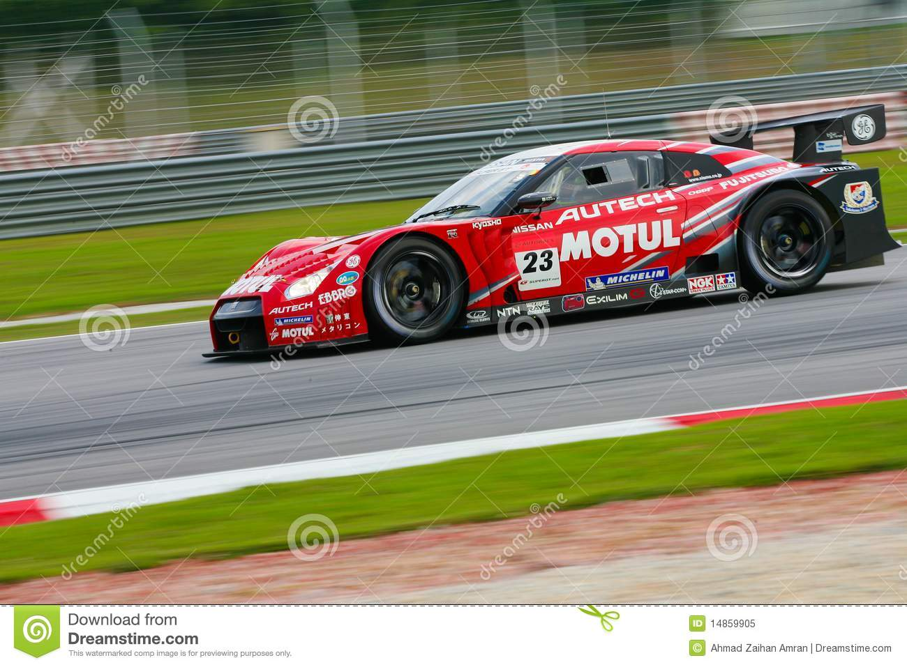 Nismo Team s in GT500 category