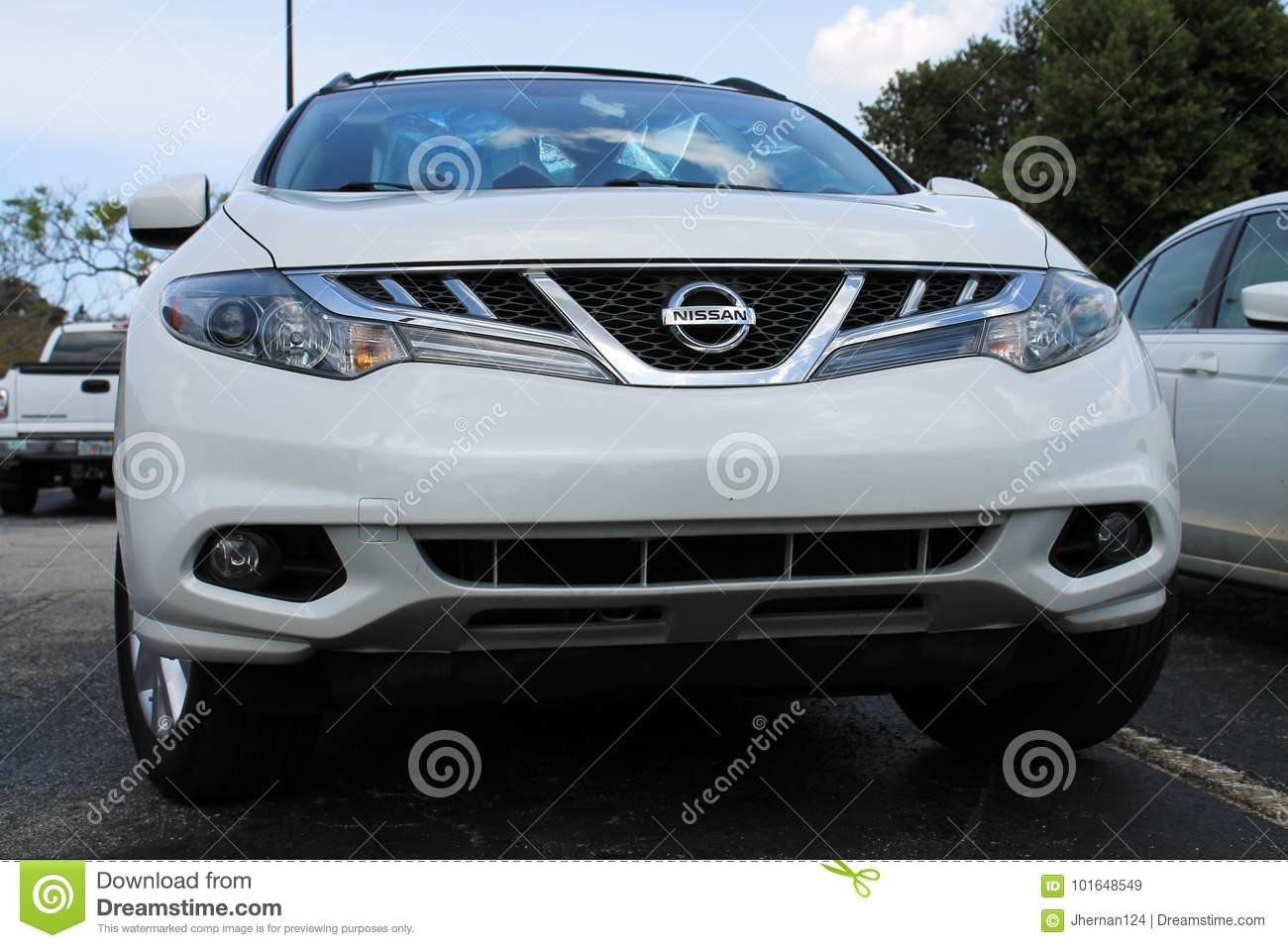 Nissan Crossover Front Editorial Stock Image Image Of Badging 101648549