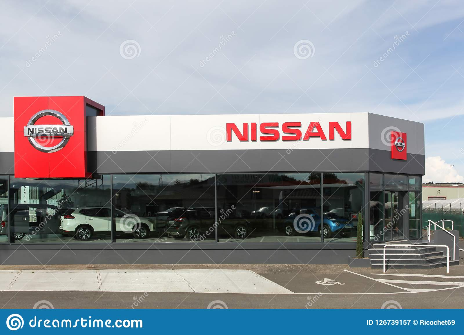 Download Nissan Dealership Building Editorial Photography. Image Of  International   126739157