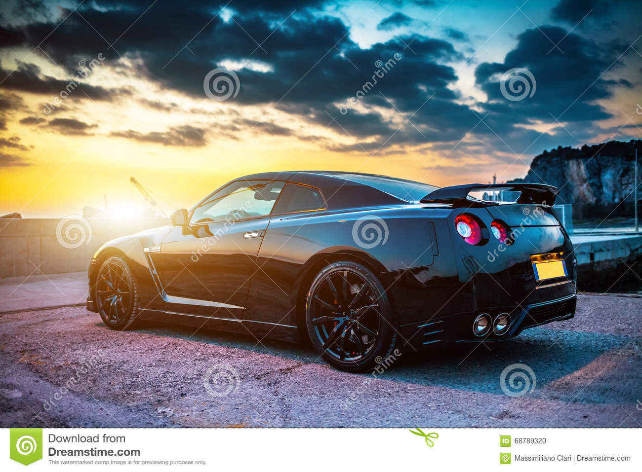 Nissan Gtr Black Edition Editorial Image Image Of Nismo 68789320