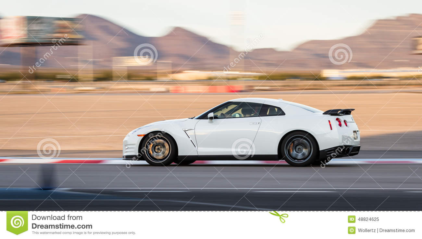 Nissan Las Vegas Nevada U003eu003e Nissan GTR Editorial Image   Image: 48824625