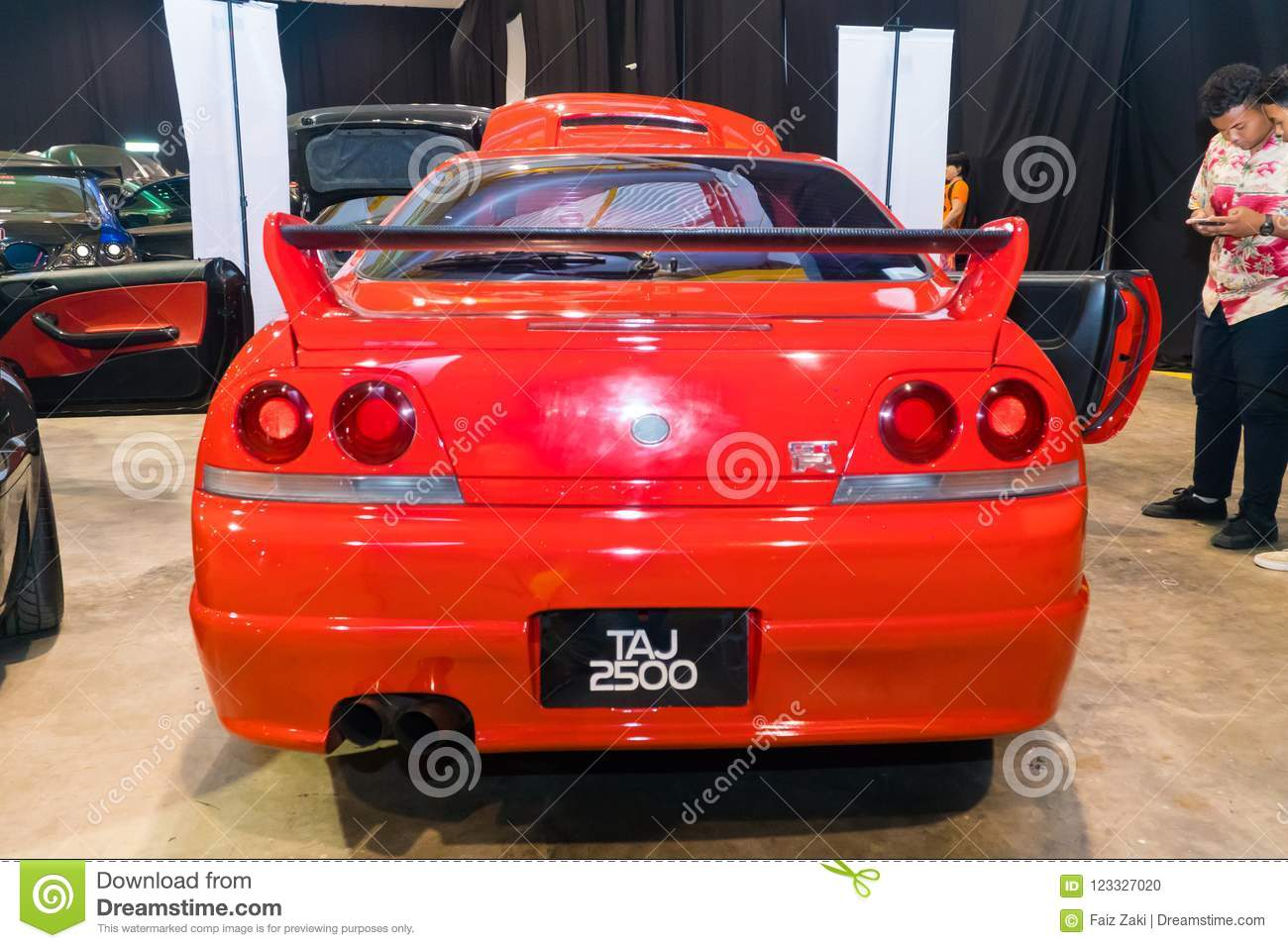 Nissan Gtr Skyline Editorial Image Image Of Bumper 123327020