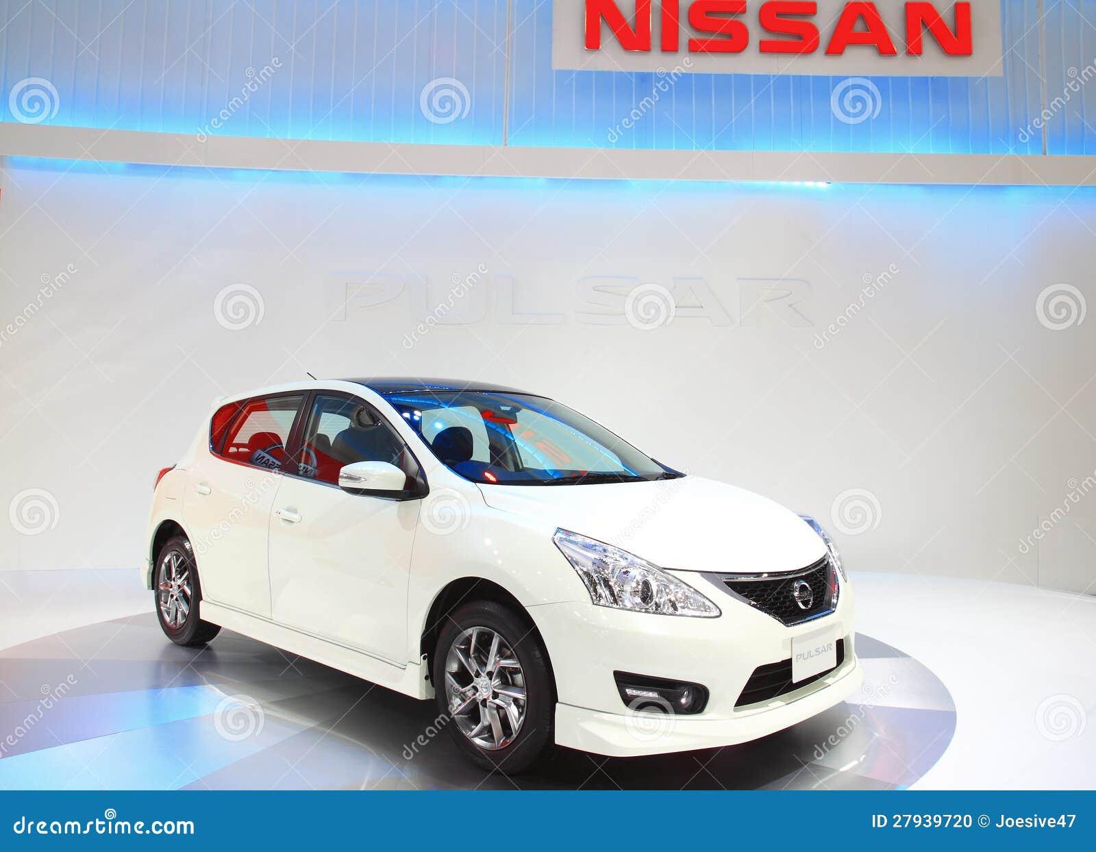 Nissan Pulsar Bangkok Motor Expo 2012 Editorial Image
