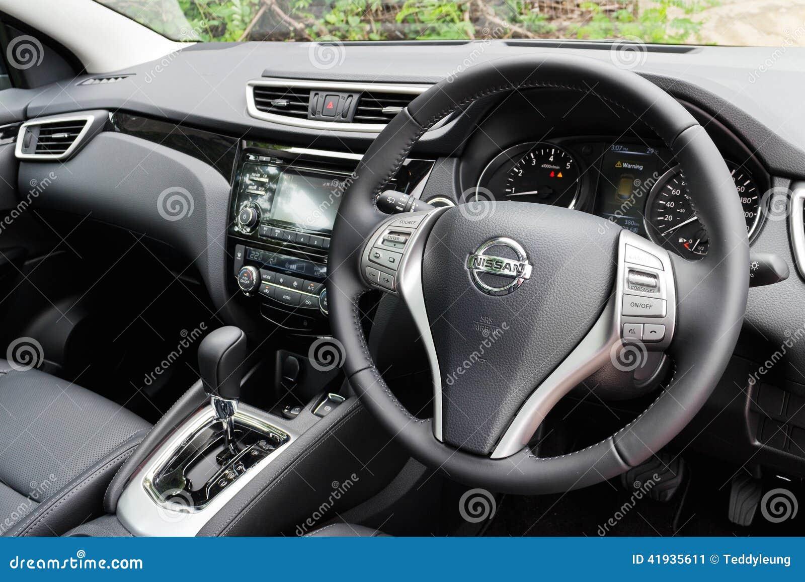 Nissan qashqai interior 2014 model editorial photo image for Interior nissan qashqai 2014