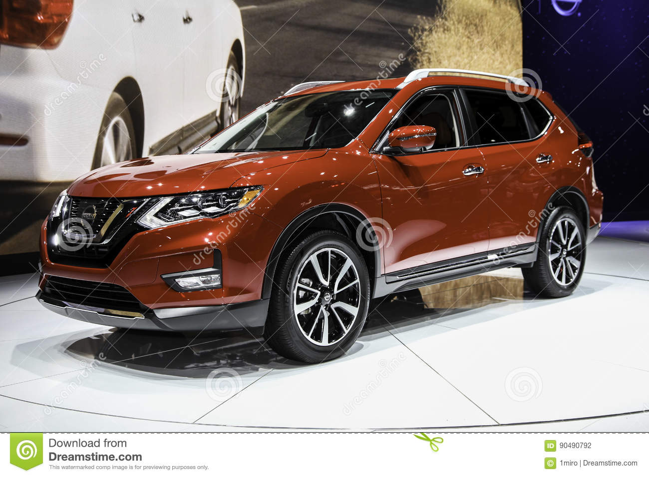 Nissan Rogue Shown At The New York International Auto Show